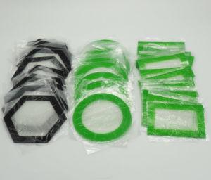 Mat van de SCHAR van de douane de Grote Rokende met Silicone en Glasvezel