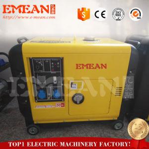 Быстрая доставка быстрого обслуживания 6 квт/ква дизельный генератор Сделано в Китае