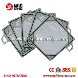 Фильтр давления плиты 1000 PP размера автоматический для обработки сточных вод