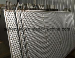Plaque de cavité de la plaque de chauffage de piscine oreiller plaque plaque d'échange de chaleur