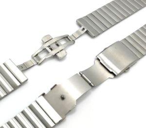 Het Stevige Roestvrij staal van de kwaliteit 1 band van het Horloge van de Parel voor Riem van het Horloge van het Toestel van Samsung S2 de Slimme voor de Band van het Horloge Mens Moto 360 Vrouwelijke Modellen