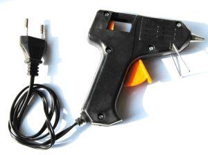 Schwarze elektrische heiße Schmelzkleber-Gewehr 20W für Masseverbindung