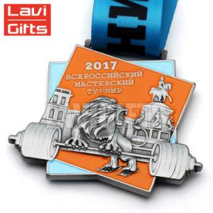 Fabricante personalizado de calidad superior de la medalla de la pegatina de cúpula