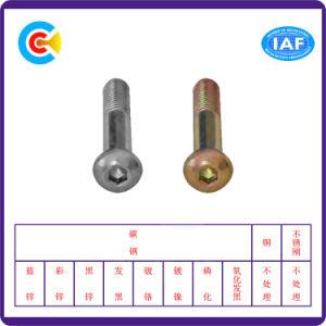 DIN/ANSI/BS/JIS kolen-staal/M12 Hexagon Schroeven Van roestvrij staal van de Machine van de Staaf van de Straal Dubbele