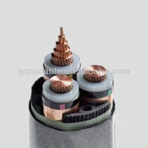 21/35kv 3X90mm2 cobre XLPE com bainha de PVC Insualted Cabo de Alimentação