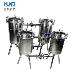 Filtro sanitario personalizzato industriale dal Doppio-Barilotto dell'acciaio inossidabile per i liquidi