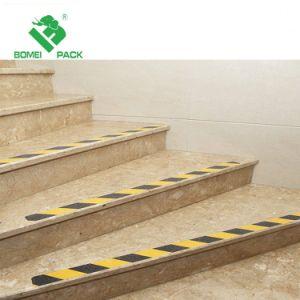 미끄럼 방지 도보 접착성 Non-Slip 층계 보행 안전 테이프 지구를 위한 층계 단계 공간 검정 그립