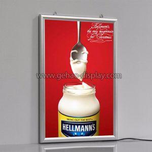 Реклама для настенного крепления алюминиевых Clip открыть блок освещения