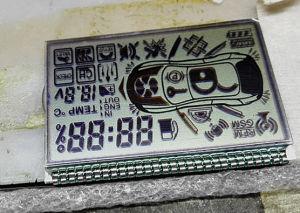Carro de impressão serigráfica personalizado Visor LCD de alarme