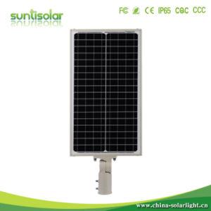Venta caliente 20W, IP66 Resistente al agua de la luz de calle solar integrada