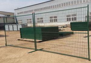 Puder-überzogene Zaun-Panels, 6FT x 10FT temporäre Zaun-Kanada-Art