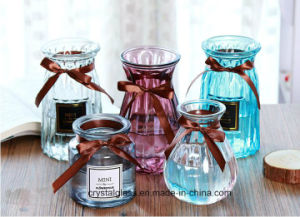Creative Vase en verre transparent Vase de couleur