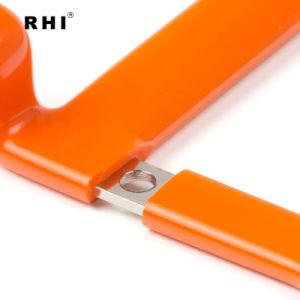 Doblar personalizado aislado de la Batería el conector de Bus de la locomotora de la barra de cobre