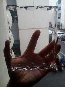 El marco de fotos de cristal Venta caliente para regalo