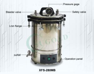 Tipo portatile autoclave inossidabile di Sugold Xfs-280CB 18L di pressione