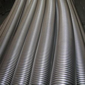 Tubo flessibile ondulato flessibile districato dell'acciaio inossidabile