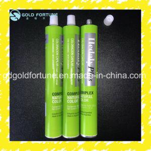 L'aluminium pliable La couleur des cheveux, de la colle, de la crème du tube d'emballage
