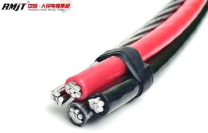 Низкое напряжение верхней XLPE XLPE кабель кабель кабель ABC