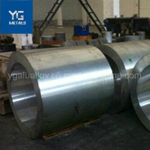 Faux rond anodisé à paroi épaisse de grand diamètre tuyau en aluminium