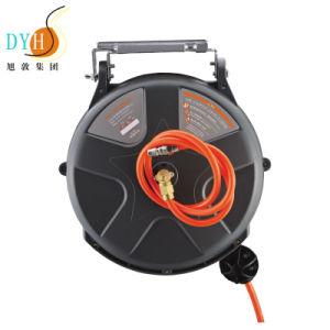 10 метровый удлинитель втягивающийся кабель питания электрического провода мотовила