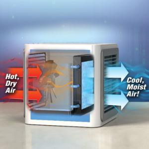 Espaço do ventilador portátil do Resfriador Mini-refrigerador de ar do dispositivo de ar condicionado