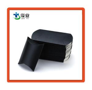 Vakje van het Hoofdkussen van het Document van de douane het Zwarte voor de Verpakking van de Gift