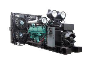 パーキンズエンジン750kVAの無声ディーゼル発電機を使って