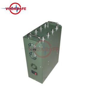 De multi Stoorzender van de Hoge Macht van de Stoorzender van de Bom van het Pak van de Mens van Banden Militaire voor GSM/2g/3G/4glte/Lojck/Gpsl2-L5; De Stoorzender/Blocker van de Afstandsbediening van de auto