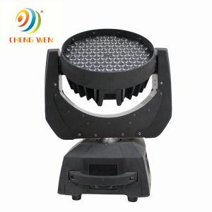 Contrôle du son maître/esclave 108*3W à LED RVB Moving chefs laver la lumière