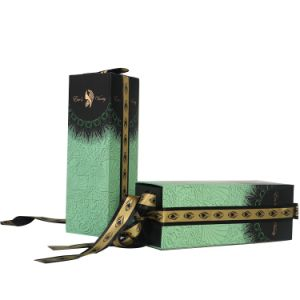 도매 관례에 의하여 인쇄되는 호화스러운 의류 포장 종이상자 엄밀한 선물 상자