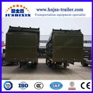 3 Wellen-seitliche Wand-Schlussteil-Zaun-Ladung-LKW-Rasterfeld-Positionen für LKW-halb Schlussteil-Fokus auf Vietnam