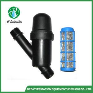 3/4 polegada de PE e PVC flexível de filtro de tela de irrigação de rosca