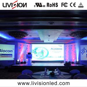 Visor LED de aluguer com interior de Qualidade Europeia P2.6 tela LED do monitor de vídeo