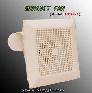 Ventilador de escape de malla cuadrada con cuarto de baño ventilador de escape