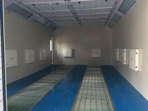 Menor precio Coche de buena calidad de pulverización estándar puesto/cabina de pintura