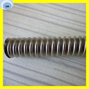 螺旋形の軟らかな金属のホース