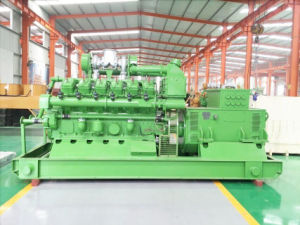 Generatore raffreddato ad acqua approvato del biogas del Ce cinese di marca