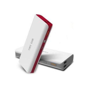 Comercio al por mayor batería externa portátil con 2 puertos USB