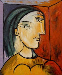Picasso-abstraktes Ölgemälde für Hauptdekoration