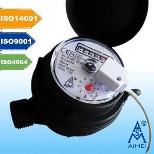 Meados de Certificados Jato Multi Dry plástico tipo de medidor de água