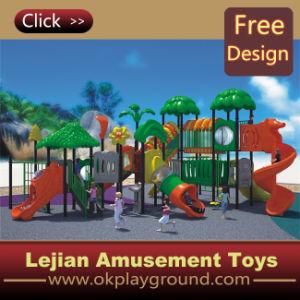 Beaucoup de plaisir en plastique de 2016 enfants Aire de jeux de plein air (X1431-7)