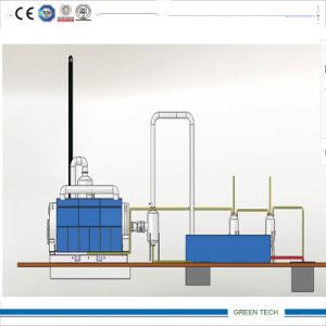 Huile de transformateur utilisé usine de raffinage du pétrole de distillation