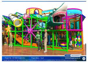20140613-020 Diversões alegrar-M-2 Kids equipamentos de playground coberto de Reprodução suave