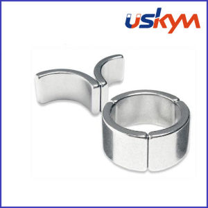 Цинк плиткой неодимовые магниты (A-007)