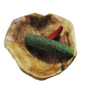 25PCS Vintage Carved Wood Bowl Primitive Hand Crafted Folk Art