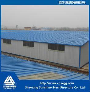 Estructura de acero de diseño profesional de acero para la construcción de almacén