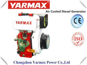 Yarmax手の開始単一シリンダー330cc 3.68/4kw 5/5.4HPディーゼル機関