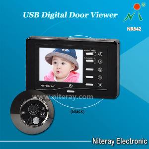 Porte de détection de mouvement Judas Viewer, objectif grand angle Mini appareil photo de regards de porte