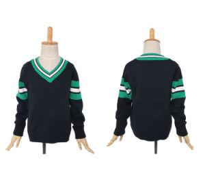 Niños de escuela 2016 V-cuello Cardigan jersey de manga larga ca2d37f56a072
