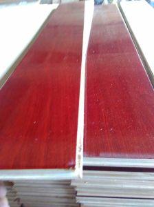 Ce approuvé de la technologie de l'Allemagne Sapelli Engineered Flooring